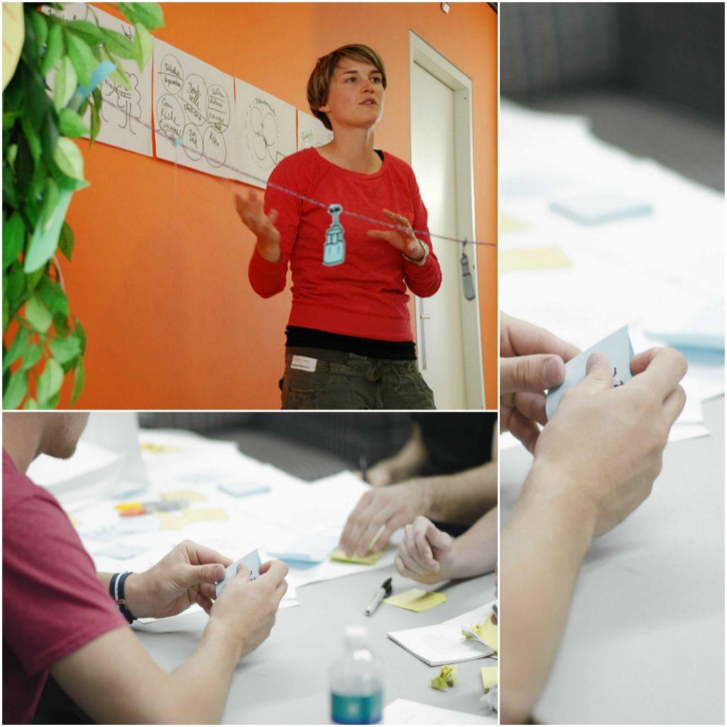 Procesos y acciones en Design Thinking