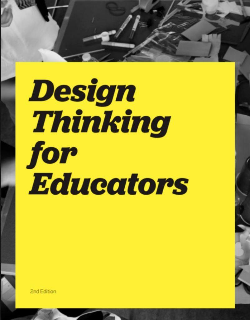 El libro más utilizado para aplicar el Design Thinking en el aula