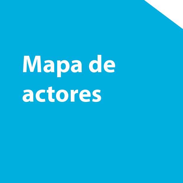 Mapa de actores como recurso de Design Thinking