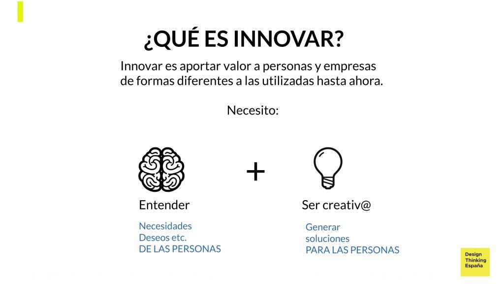 Qué es innovar