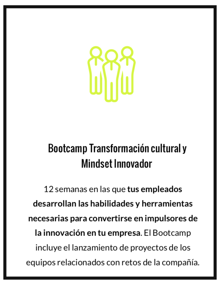 Bootcamp de Design Thinking para empresas