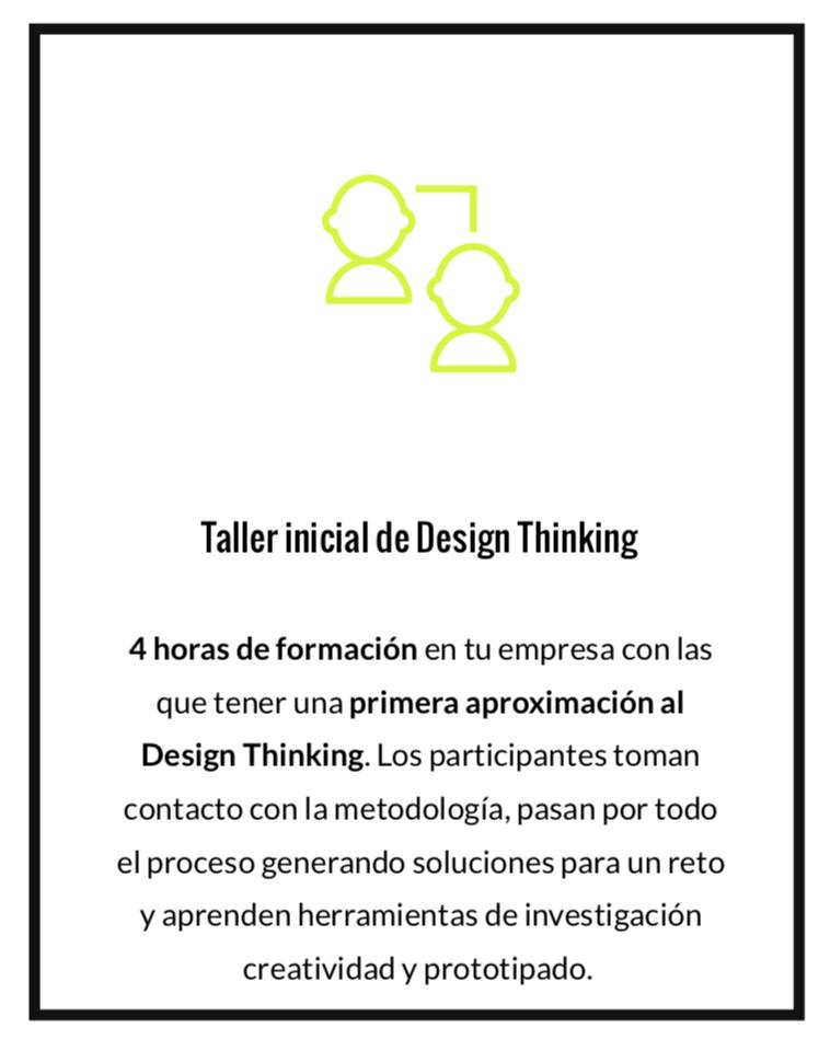 Taller de Design Thinking para empresas inicial