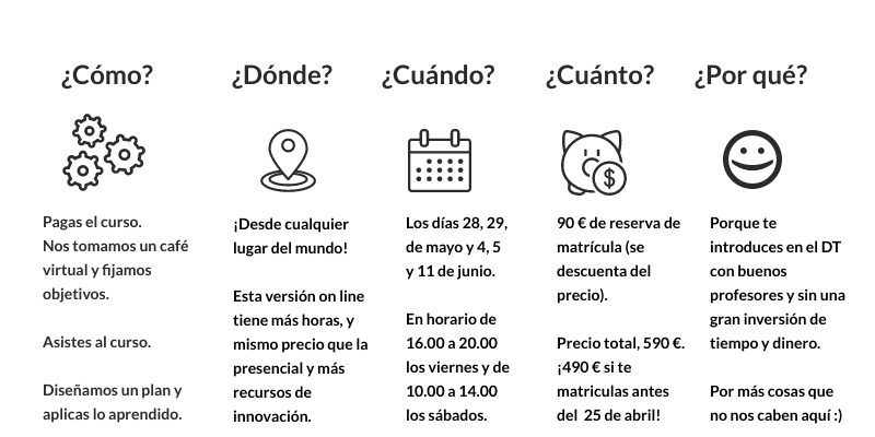 Curso de Design Thinking mayo-junio Design Thinking España